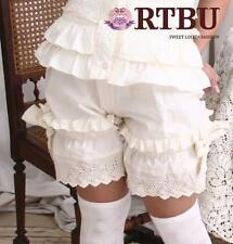 Victorian Lolita Drawers Chemise Bloomer Shorts LARP SM