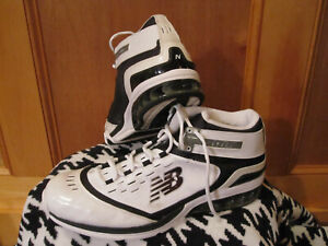 Mens NEW BALANCE ZIP High Top Basketball Shoes Sneakers BB906WB White/Black 16EE