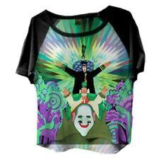 THE BEATLES YELLOW SUBMARINE WOMEN'S Jeremy Hillary tetta Manica Corta T-shirt, M