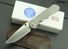 New CNC D2 Blade Sebenza 25 Style Full TC4 TITANIUM Handle Folding knife DF16