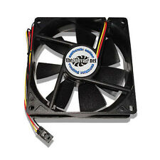 New 92mm Fan w/ Dell 3 pin replaces NMB 3610KL-04W-B66 + Free Rubber Mounts