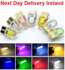T10 194 168 W5W COB 4 SMD LED Interior Silica Bright White License Light Bulb