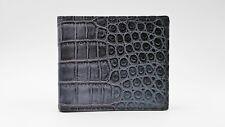 Grey Crocodile Wallet