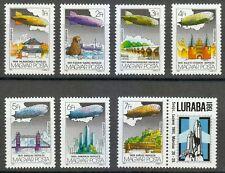 Hungary 1981 MNH Mi 3477-3483Zf Sc C428-C434 Graf Zeppelin Flights.LURABA '81 **