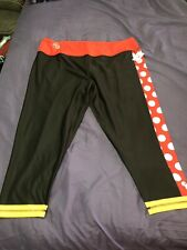Run Disney Parks I Am Minnie Mouse Women's Fitness Exercise Leggings Pants 2XL