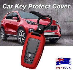 Smart Key Aluminum Case Cover Red For Toyota Camry CHR Corolla RAV4 Avalon