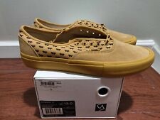 Brand new Vans Syndicate Wtaps Yellow Wings Authentic S Size 13 Golf Wang