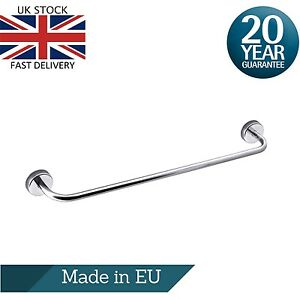 Single Towel Bar Rail 60cm/23.6 inches Stainless Steel Wall Mount Self Adhesive