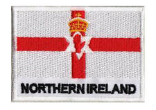 Patch écusson patche IRLANDE DU NORD Ulster 70 x 45 mm