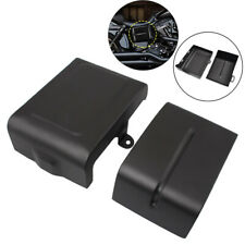 1pair Left&Right Side Battery Cover For Harley Dyna Low Rider Wide Glide 06-17