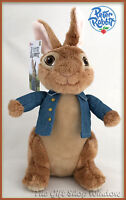 PETER RABBIT THE MOVIE SOFT PLUSH TOY PETER OR FLOPSY 24cm BNWT SUPERB QUALITY