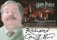 Harry Potter and the Prisoner of Azkaban Update Richard Griffiths Autograph Card