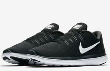Nike Flex 2017 RN Run Men Sz 13 Black White Running Shoes 898457 001 Training