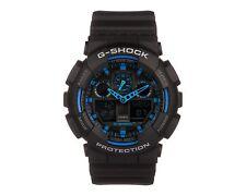 Orologio Casio G-Shock GA-100-1A2ER Nero Blu Nuovo Originale Ufficiale
