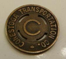 One 1940's Conestoga, Lancaster PA Transportation Transit Token FREE SHIPPING!