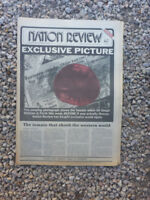 VINTAGE AUS NATION REVIEW NEWSPAPER. MARCH 29 1974 - WHITLAM TOMATO