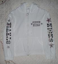 Stevie Nicks Embellished Hoodie Jacket Sweatshirt