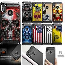 Case For [Samsung Galaxy A11 [Flex TPU Fiber SET3] Slim Black Cover