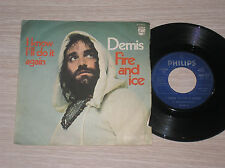"DEMIS ROUSSOS - FIRE AND ICE / I KNOW I'LL DO IT AGAIN - 45 GIRI 7"" ITALY"