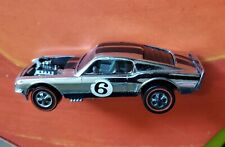 Hot Wheels Redline 1969 Membership Club Silver Special Boss Hoss w Tin Button