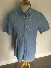 Jaeger Mens Patterned Short Sleeve Shirt Size M. Great Condition.