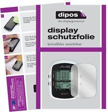 3x Mitac Mio Cyclo 105 HC Schutzfolie klar Displayschutzfolie Folie Display