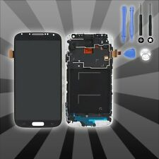For Samsung Galaxy S4 i9505 Blue LCD Display Touch Screen Digitizer Replacement
