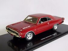 HIGHWAY 61 1968 DODGE DART RED 1/43 RESIN 43001