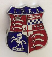 LPBA Invicta Bowling Club Badge Pin Rare Vintage (M17)
