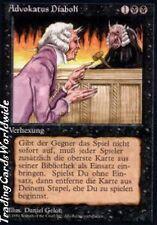 Demonic Attorney EX // // Foreign black bordered // Deut. // Magic the Gathering