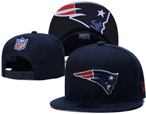 Blue NFL New England Patriots SnapBack Hat Cap Adjustable. US Seller