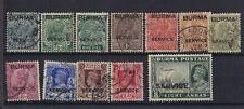 Burma KGV/KGVI Used Collection