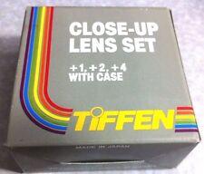 55mm TIFFEN Close-Up Macro +1 +2 +3 Set Kit Lens Filter OEM Genuine Japan 55 mm