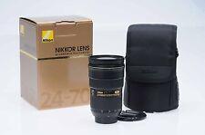 Nikon Nikkor AF-S 24-70mm f2.8 G ED N IF ASPH Lens AFS                      #605
