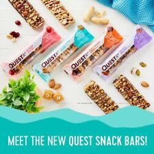 Quest Nutrition Protein Keto SNACK BAR Gluten-Free Low Carb 12 Bars PICK FLAVOR