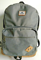 BackPack STEVE MADDEN Book Bag Grey Gray With Tan Suede Bottom