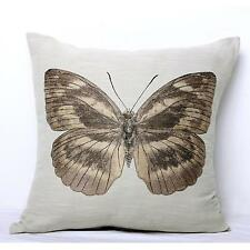 Butterfly Latte Euro Cushion Cover