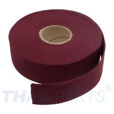 10m Gurtband 40mm Breit ca. 1,6mm stark - bordeauxrot Polypropylen Taschengurt