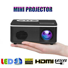 S361 Mini LED Projektor HD 1080P AV USB TF HDMI Video Heimkino Multimedia Beamer