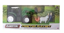 Teamsterz Tractor Playset - Green