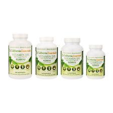 Vitamin D3 10000 IU with Organic Olive Oil Softgels Vit D3 Gluten Free Non-GMO