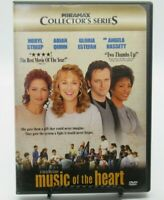 MUSIC OF THE HEART - COLLECTOR'S SERIES 2-DISC DVD MOVIE, MERYL STREEP, WS