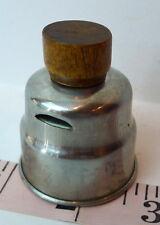 Vintage Tea Kettle Whistle Whistler Cap Replacement wooden knob grip