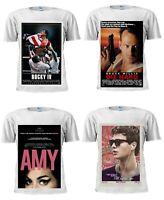Film Tshirt Movie Poster Inspired T Shirt Men Women Unisex Trendy White Tshirt