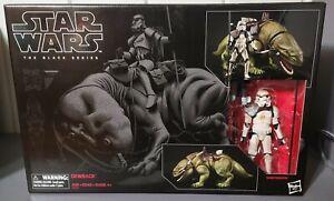Hasbro Star Wars Black Series 6 Inch Dewback with Sandtrooper Mint in Box!