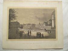 Dresden  Sachsen Lithografie von R. Bürger  um 1850