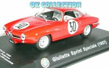 1:43 ALFA ROMEO GIULIETTA SPRINT SPECIALE (1957) T.Florio + COPERCHIO BOX RIGIDO
