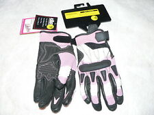 Castle Streetwear Motorcycle Street Protection Blast Gloves, Pink, Ladies S, NWT