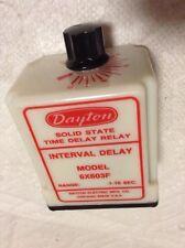 Dayton 6X603F Interval delay Relay