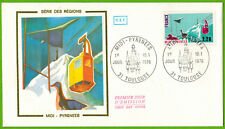 1976-Enveloppe illustrée 1°Jour**Concorde-Midi-Pyrénées--Obl.Toulouse-Yv.1866